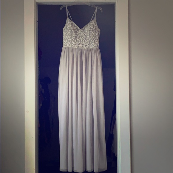 BHLDN Dresses & Skirts - BHLDN Elowen Dress in Fog